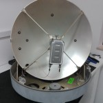 Antenna satellitare nautica